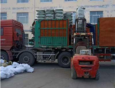 13米整车钢板挂车垃圾桶